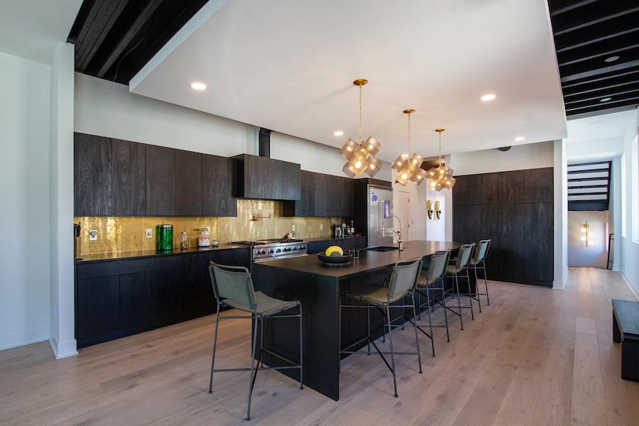 house for sale Fishtown designer townhouse kitchen