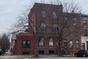 house for sale frank furness Fishtown townhouse exterior front