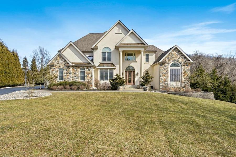 house for sale Hockessin builder's special exterior front