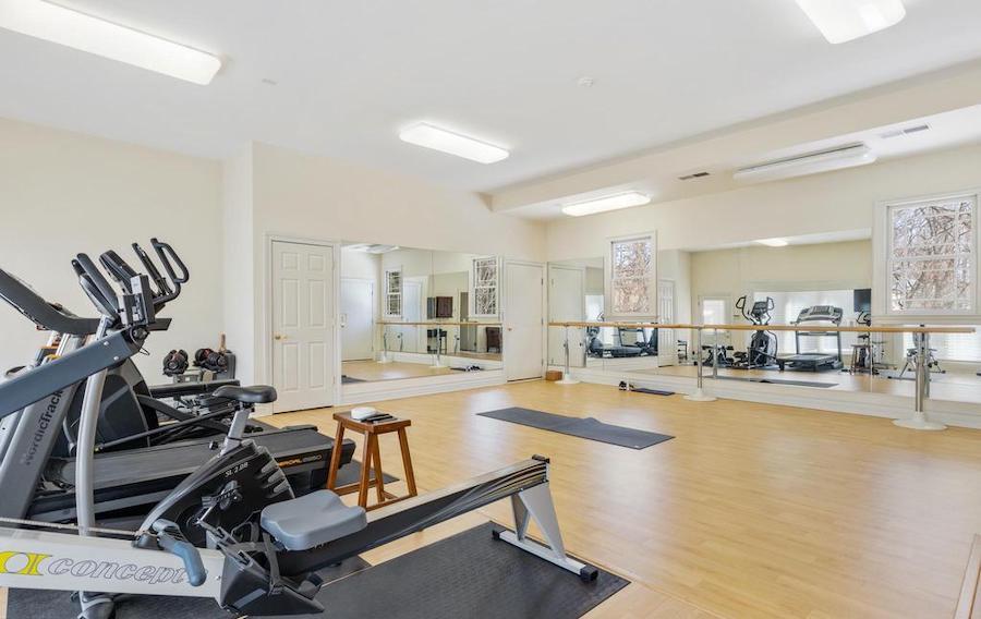 gym and dance studio