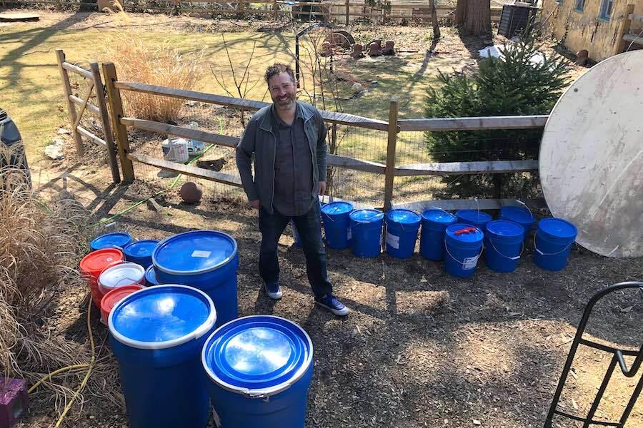 philadelphia maple syrup maker jethro heiko in his east oak lane backyard