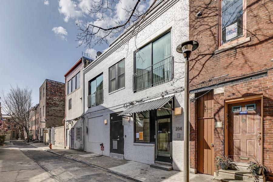 apartment for rent Washington Square West loft exterior rear
