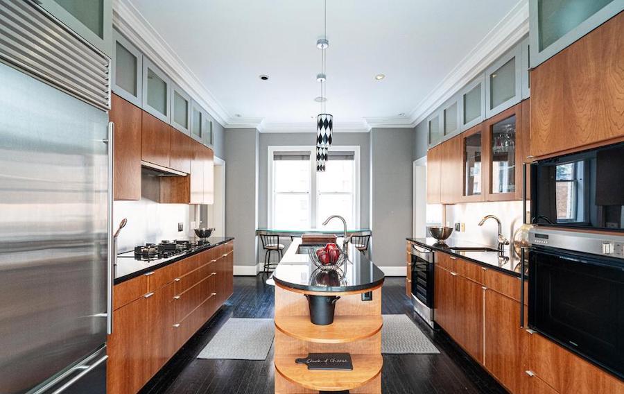 Rittenhouse Square renovated condo for sale kitchen