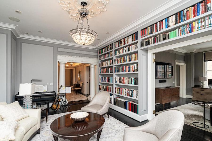 Rittenhouse Square renovated condo for sale living room