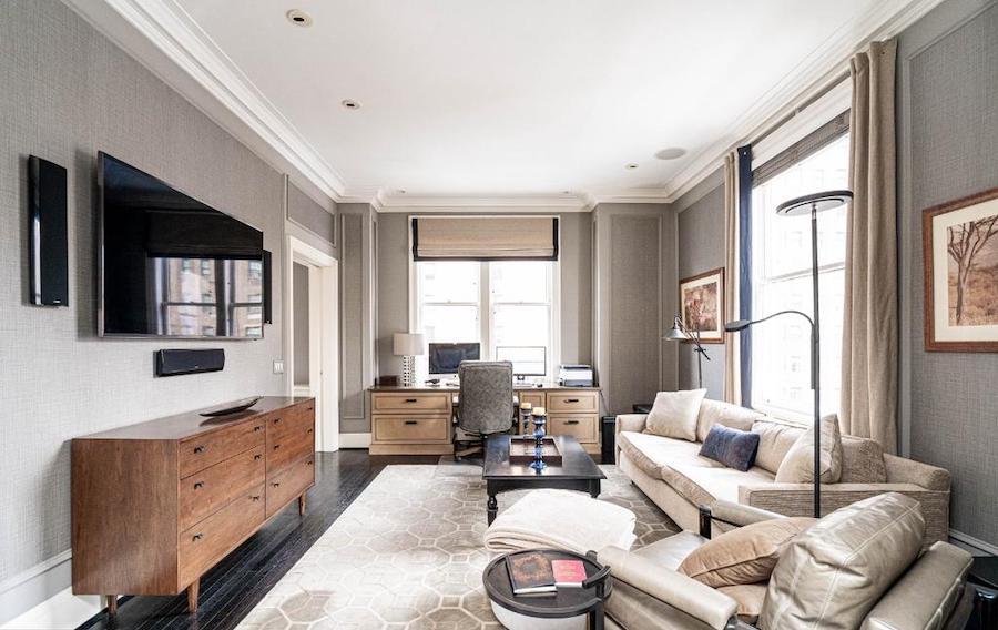 Rittenhouse Square renovated condo for sale bedroom/home office