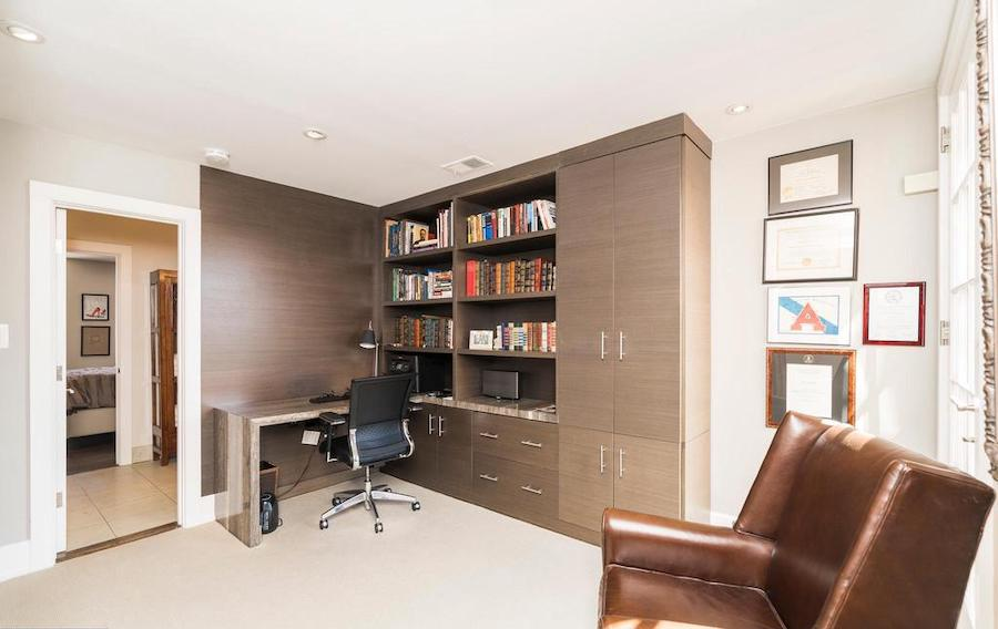 house for sale Rittenhouse renovated townhouse home office