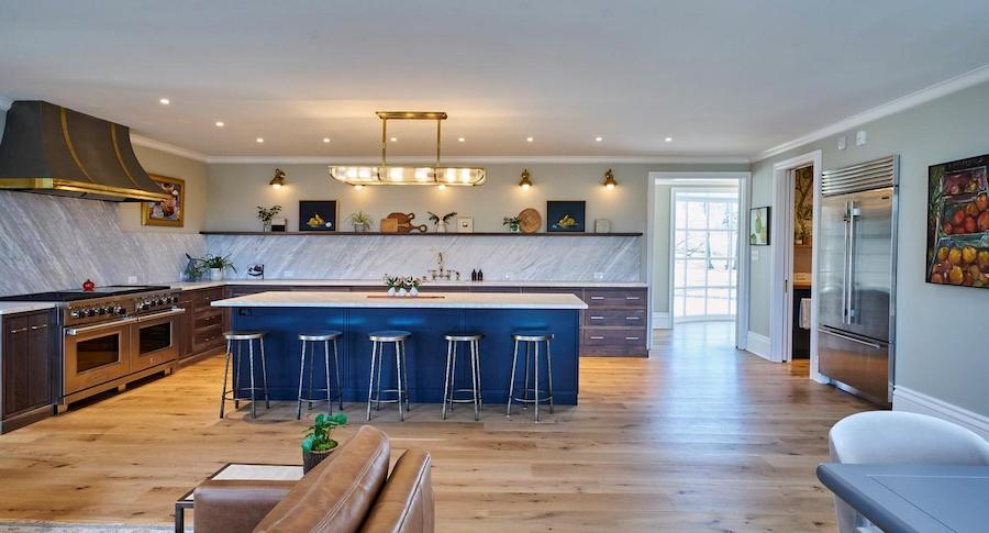 house for sale Chestnut Hill renovated colonial kitchen