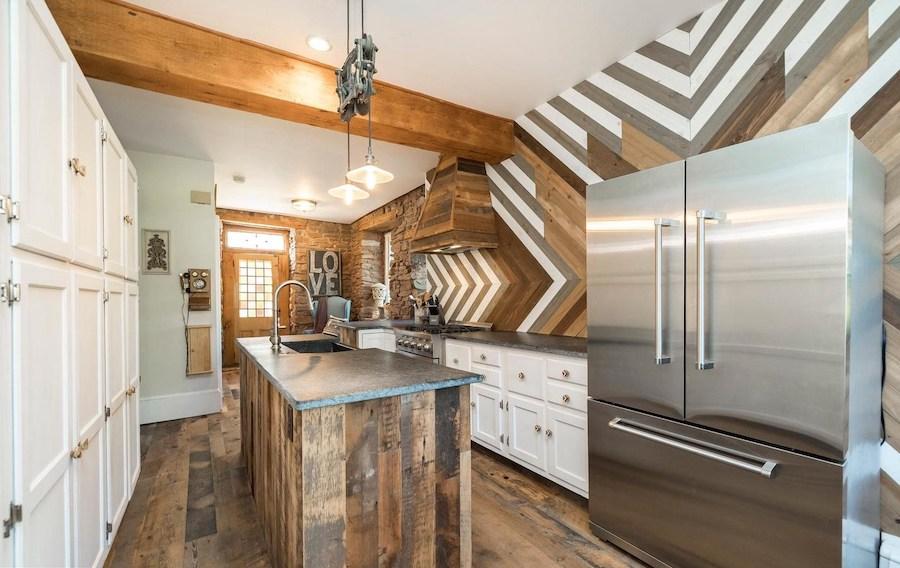 house for sale Harleysville grist mill kitchen