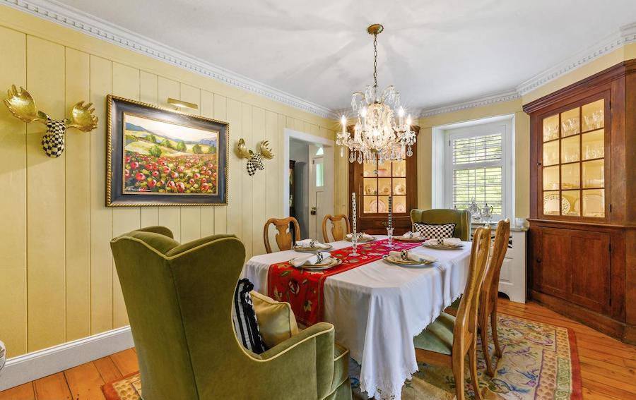 house for sale malvern expanded colonial farmhouse dining room