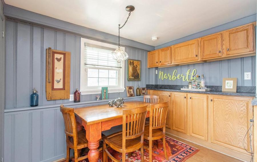 house for sale Narberth expanded cape breakfast room