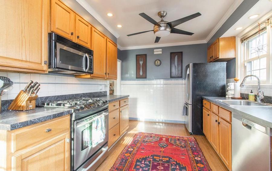 house for sale Narberth expanded cape kitchen