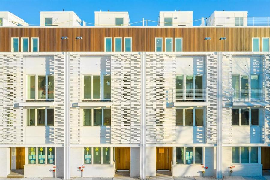 house for sale Rittenhouse Square new construction townhouse exterior front