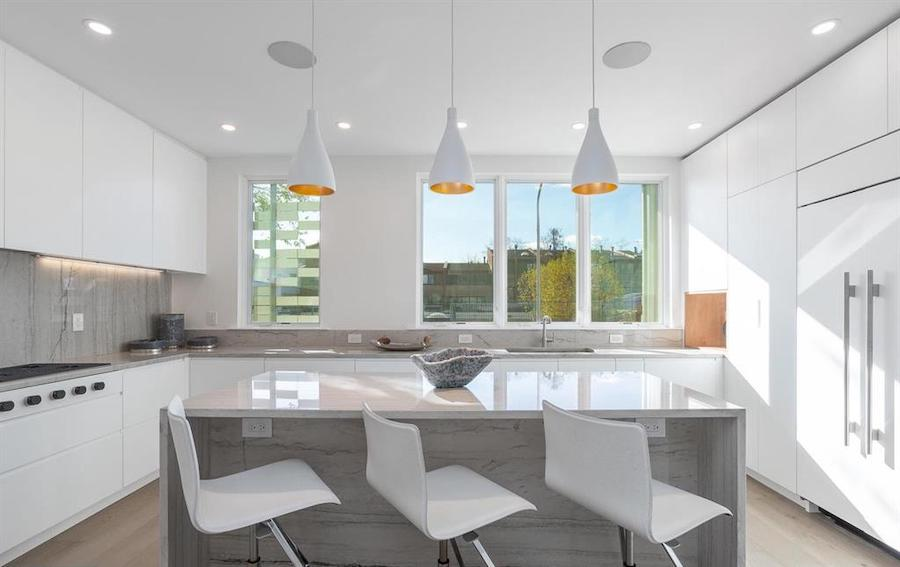 house for sale Rittenhouse Square new construction townhouse kitchen