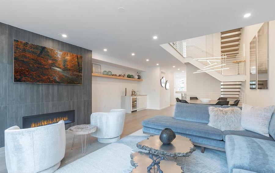 house for sale Rittenhouse Square new construction townhouse main floor
