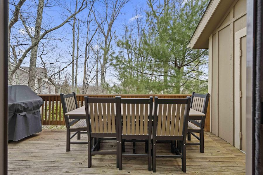 house for sale tannersville contemporary traditional house deck