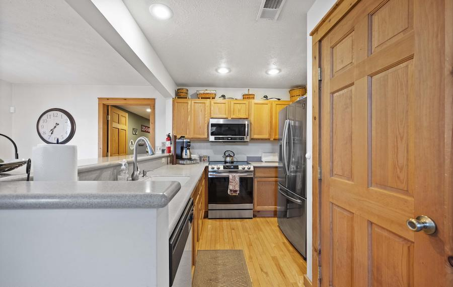 house for sale tannersville contemporary traditional house kitchen