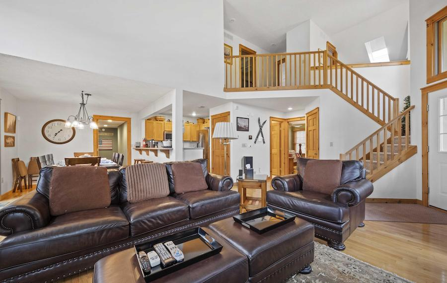 house for sale tannersville contemporary traditional main living area