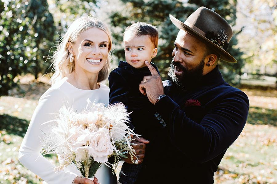 Montgomery County backyard wedding