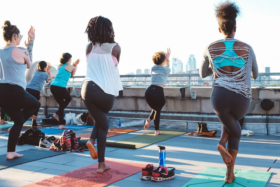 outdoor yoga philadelphia