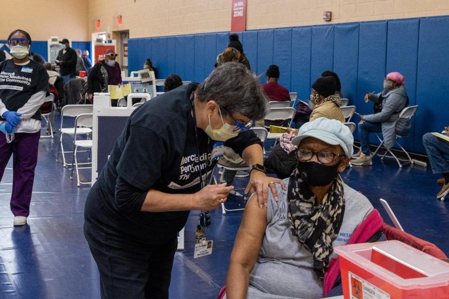 vaccination disparities vaccine clinic