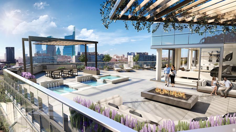 condo for sale Logan Square penthouse condo for sale Logan Square penthouse east terrace