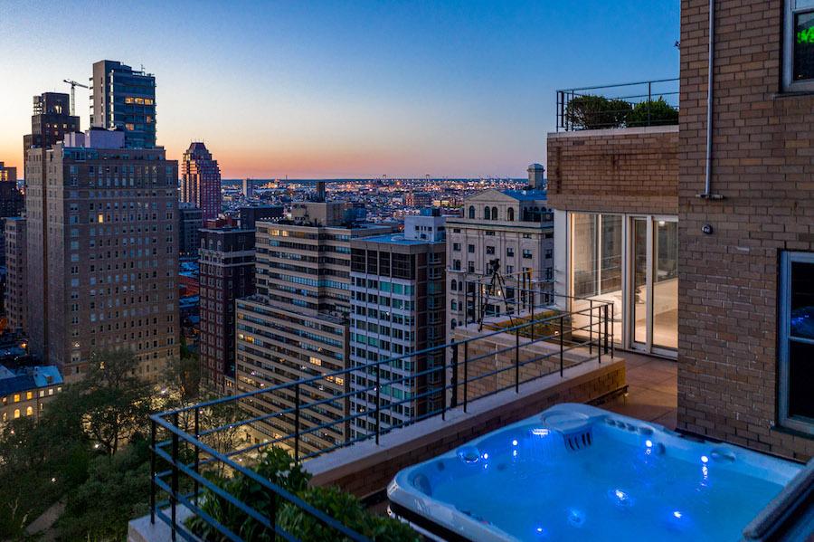 condo for sale Rittenhouse Square penthouse north terrace