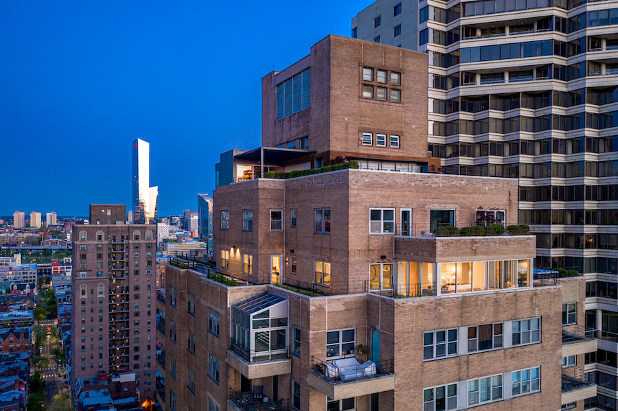 condo for sale Rittenhouse Square penthouse exterior view