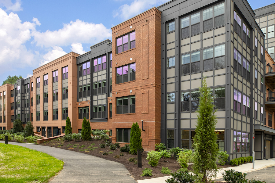 Delwyn apartment profile exterior