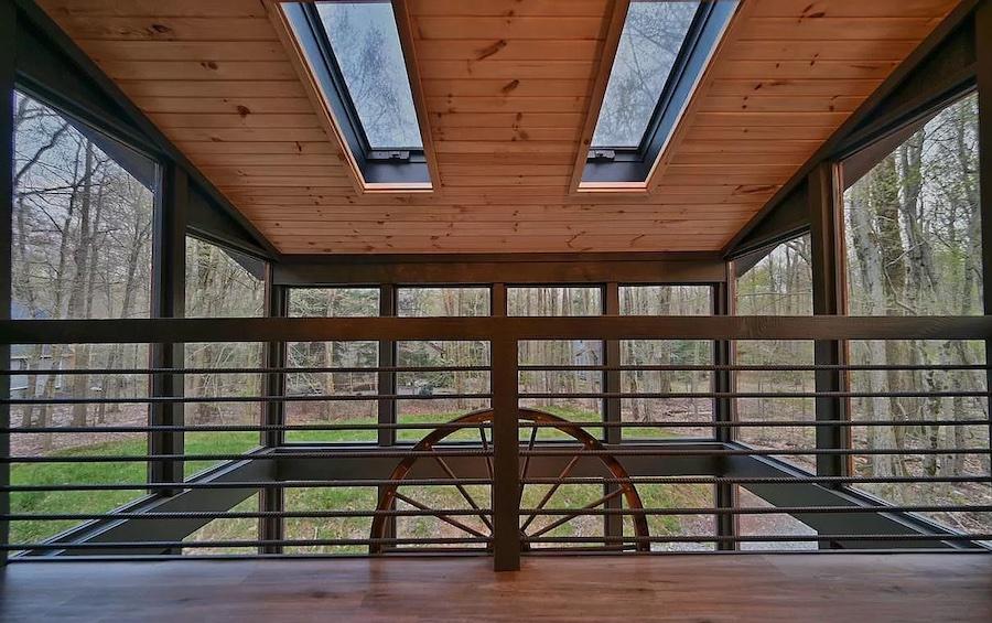 primary bedroom atrium balcony
