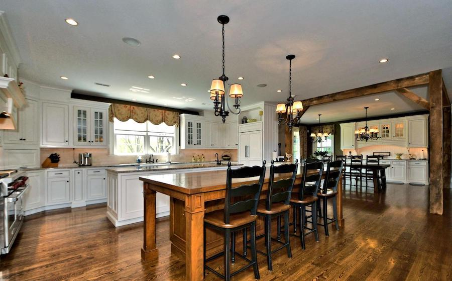 house for sale new hope farmstead kitchen and casual dining room
