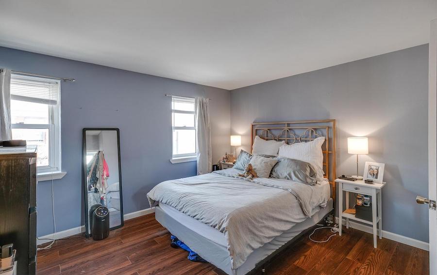 top-floor bedroom