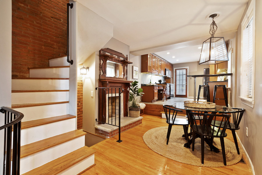 house for sale queen village extended trinity dining room