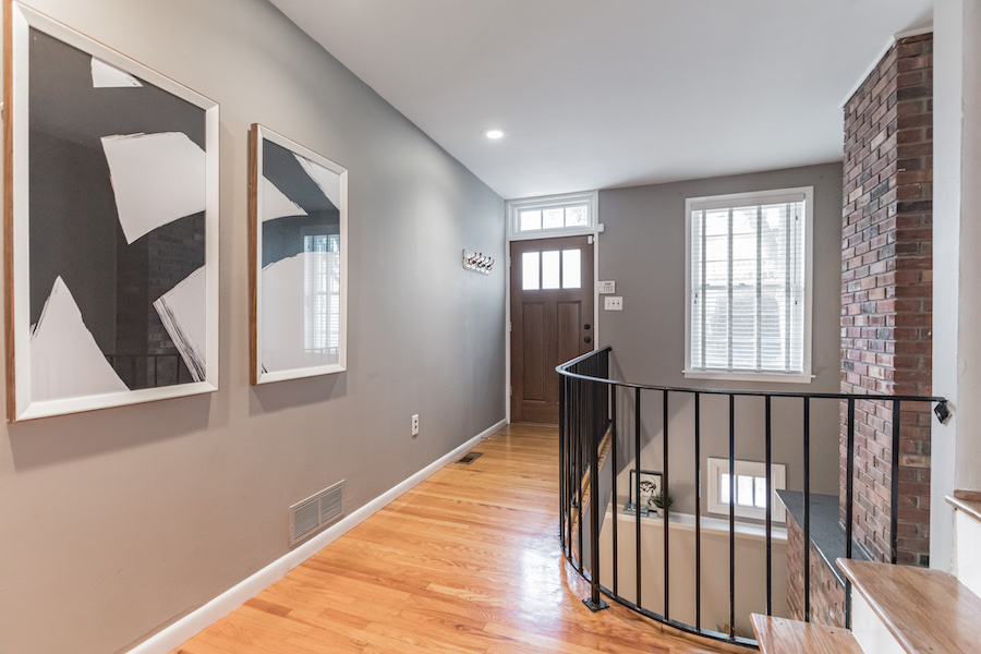 house for sale queen village extended trinity light well