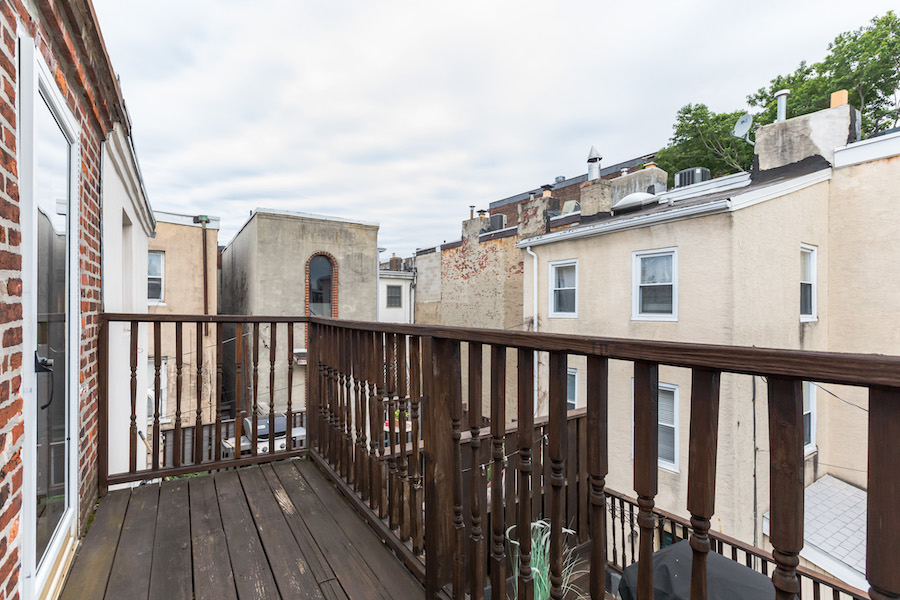 primary suite balcony