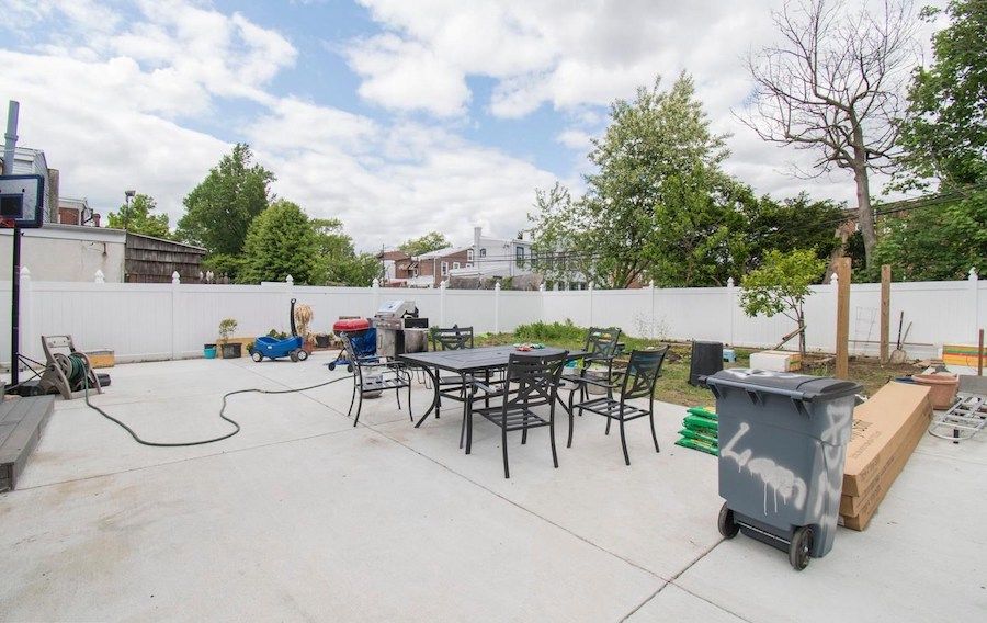 house for sale rebuilt wissinoming traditional backyard