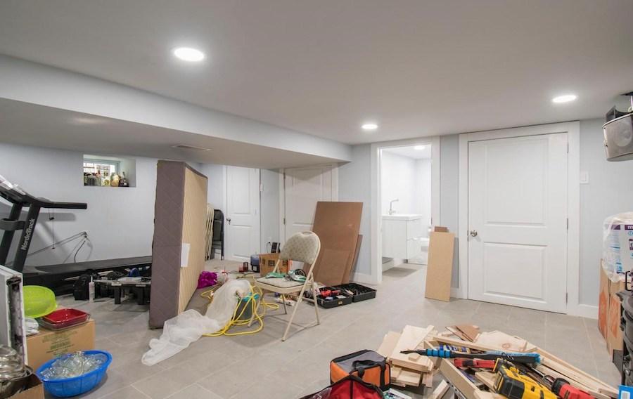 basement family/rec room