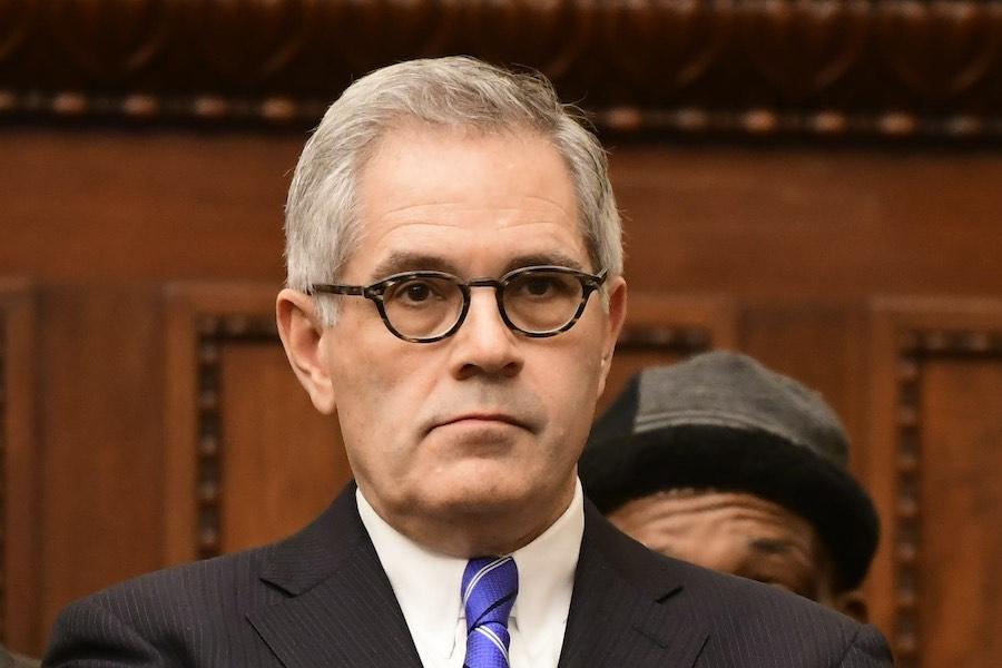larry krasner, the district attorney of philadelphia