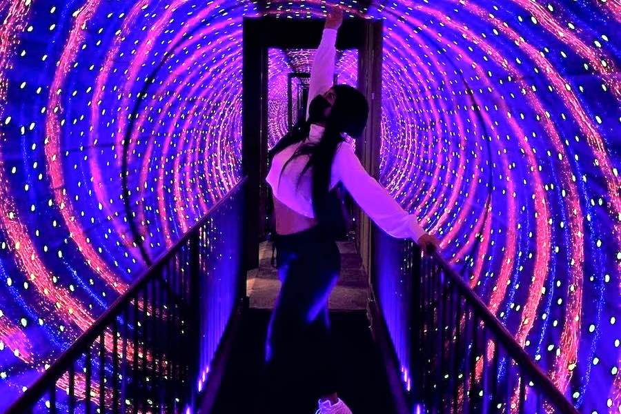 an example of the type of immersive exhibit you'll find at the museum of illusions in philadelphia when it opens later this year
