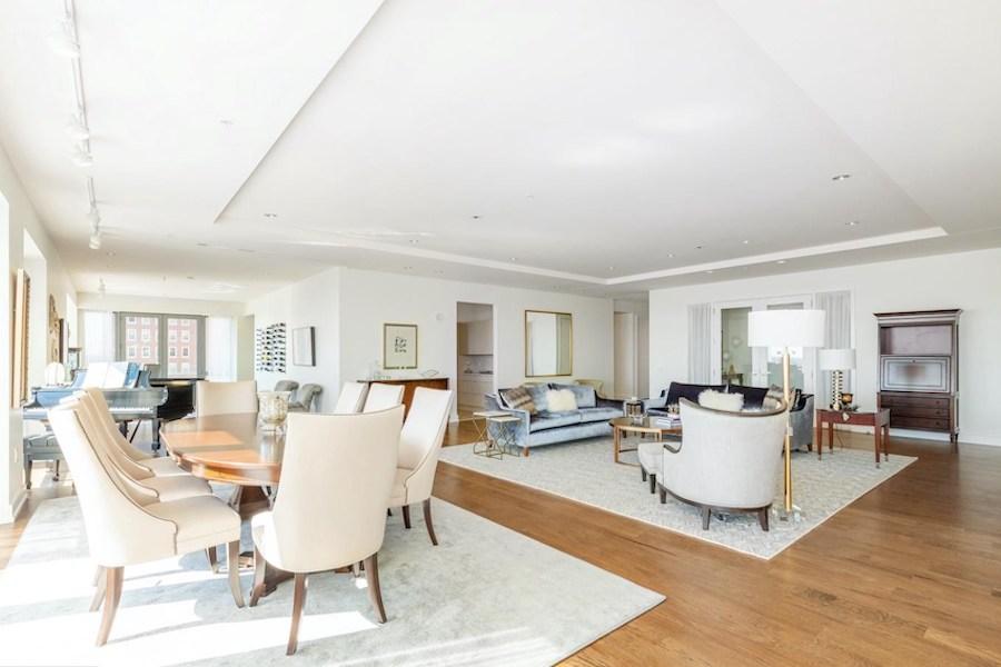 condo for sale 1706 Rittenhouse full-floor main living area