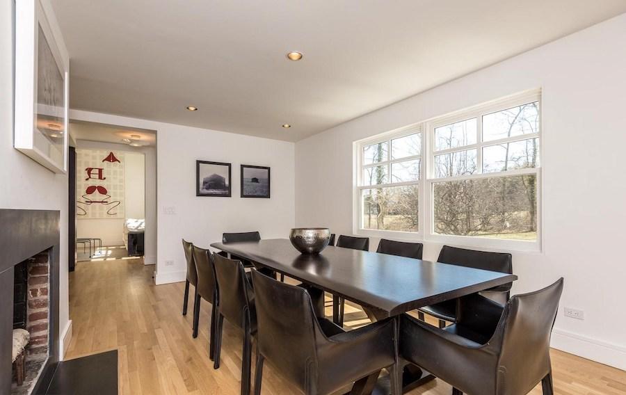 house for sale ambler postmodern farmhouse dining room