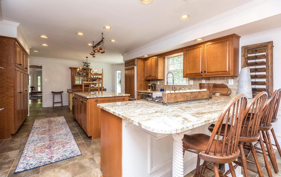 house for sale Blue Bell colonial farmhouse kitchen