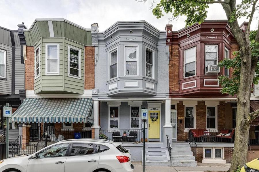house for sale Brewerytown tiki bar exterior front
