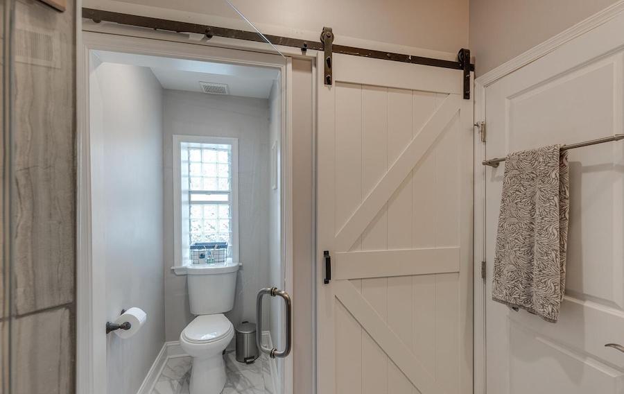 primary bathroom toilet