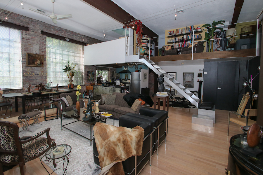 house for sale Dickinson Narrows converted warehouse main and upper floors