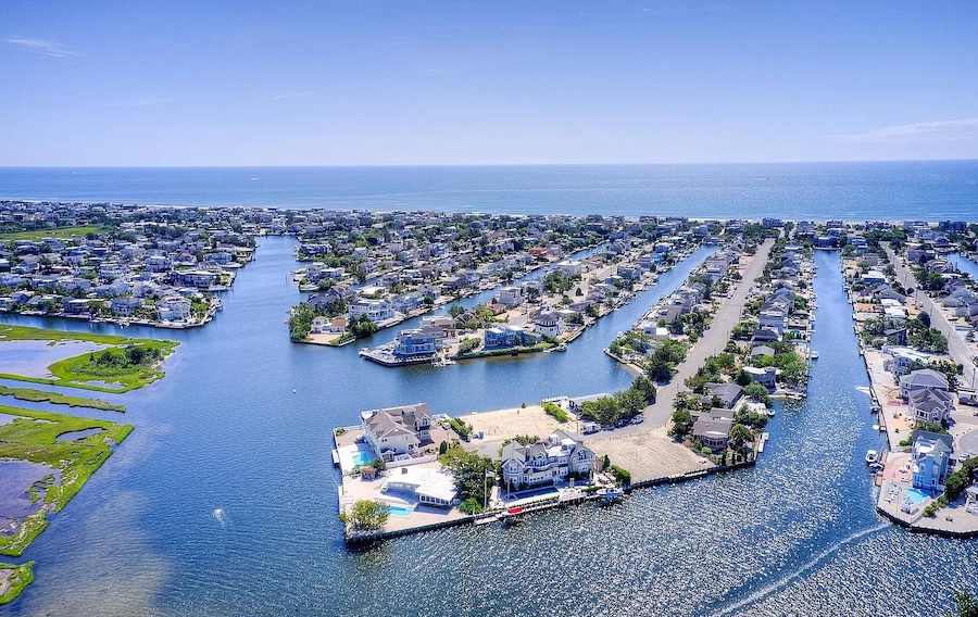 house for sale lagoonside Loveladies new construction nautilus drive, circa 2017-18