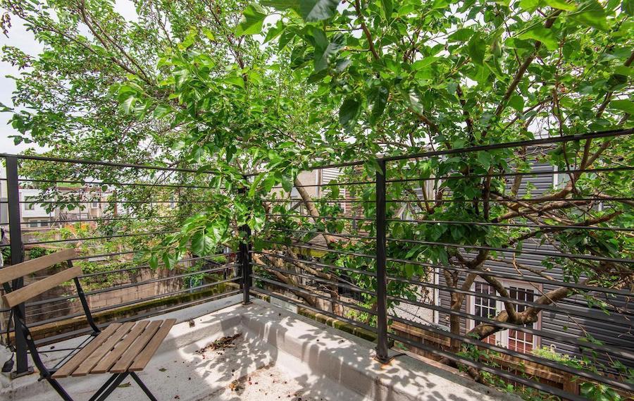 rear bedroom balcony