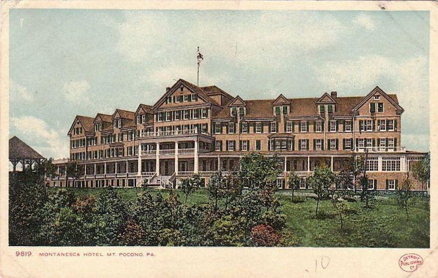 house for sale Mt. Pocono Norman manor Montanesca Hotel