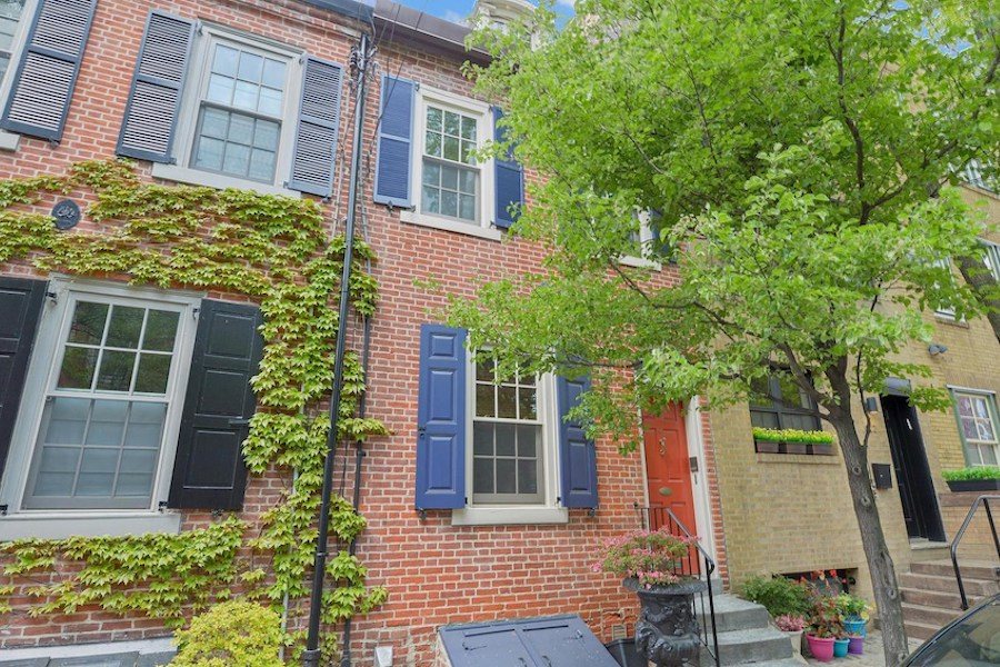 house for sale queen village double trinity exterior front