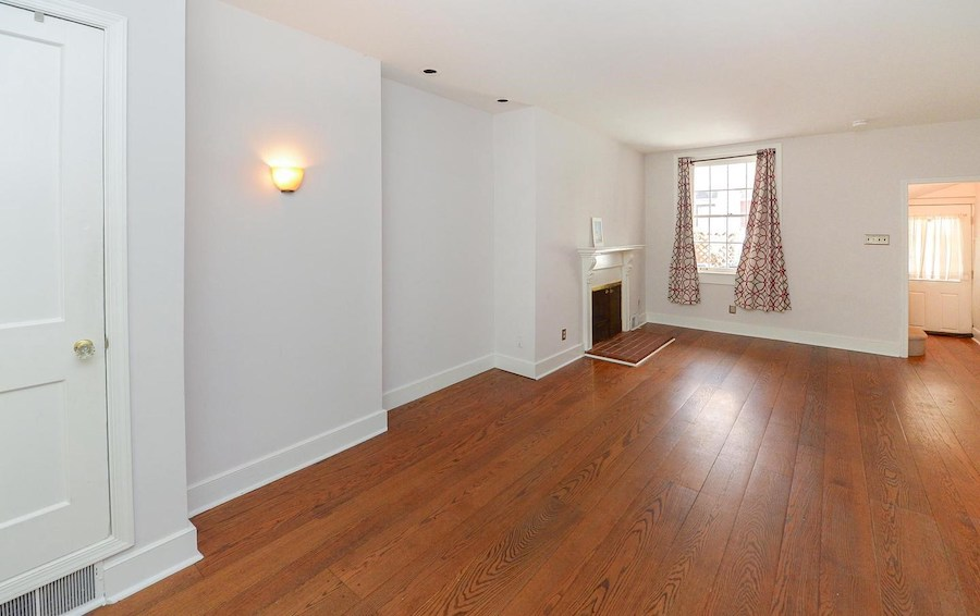 house for sale queen village double trinity living room