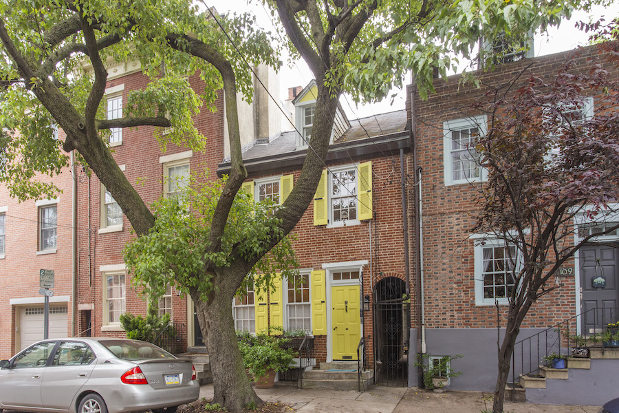 house for sale queen village historic trinity exterior front